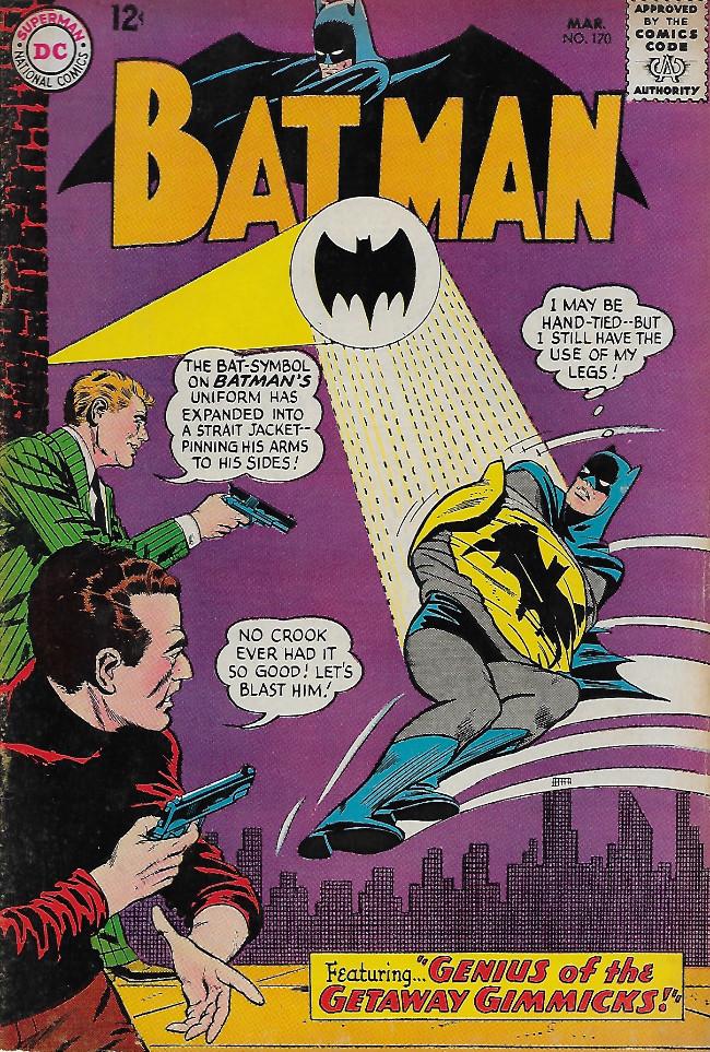 Couverture de Batman Vol.1 (DC Comics - 1940) -170-