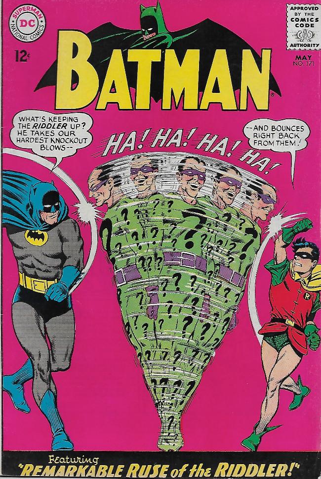 Couverture de Batman (1940) -171-