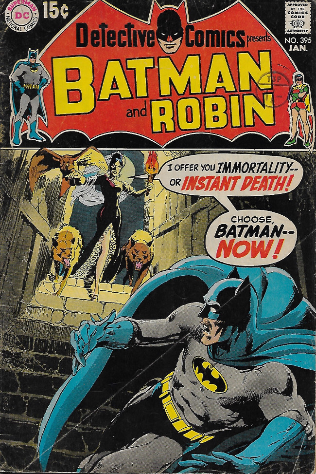 Couverture de Detective Comics Vol 1 (1937) -395-