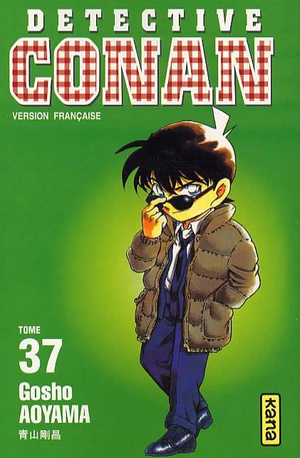 Couverture de Détective Conan -37- Tome 37