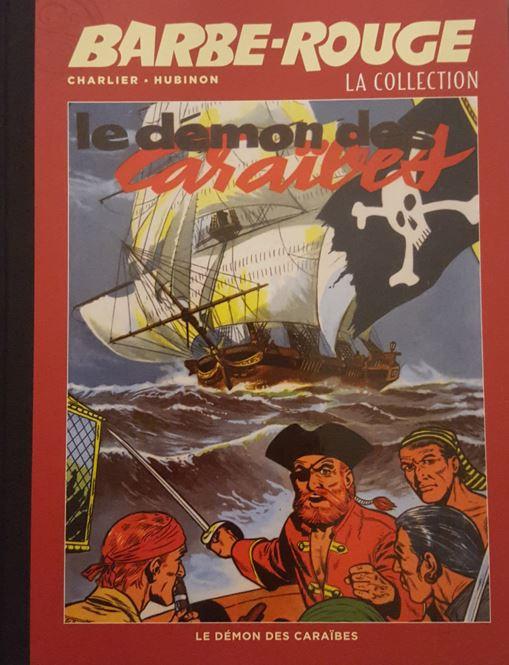 Couverture de Barbe-Rouge (Eaglemoss) -1- Le démon des Caraïbes