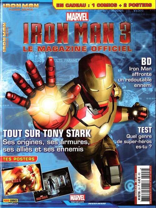 Couverture de Iron Man Hors-Série -2- Iron Man 3