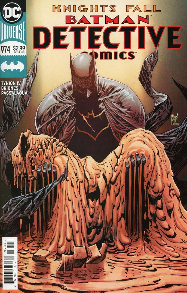 Couverture de Detective Comics (1937), Période Rebirth (2016) -974- Knights Fall