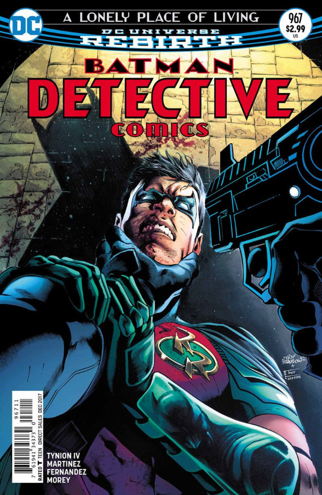 Couverture de Detective Comics (1937), Période Rebirth (2016) -967- A Lonely Place of Living - Chapter 3