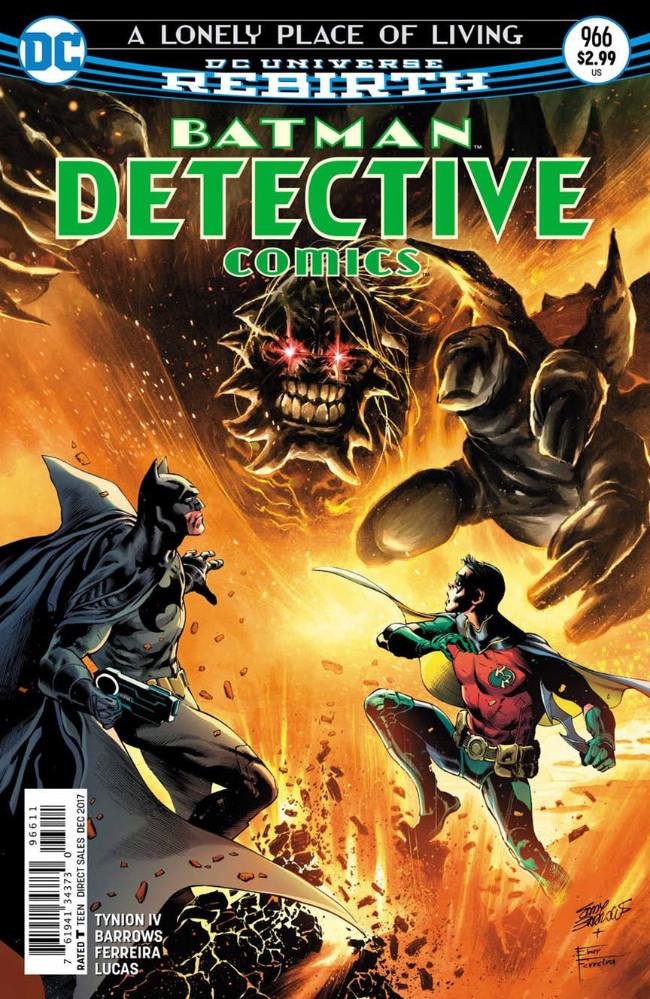 Couverture de Detective Comics (1937), période Rebirth (2016) -966- A Lonely Place of Living - Chapter 2