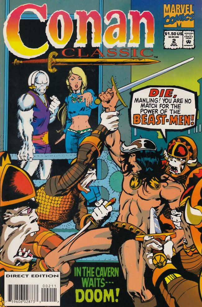 Couverture de Conan classic (1994) -2- Lair of the beast-men