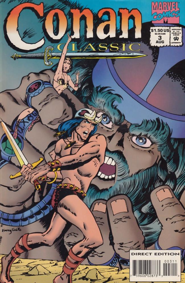 Couverture de Conan classic (1994) -3- The twilight of the grim grey god