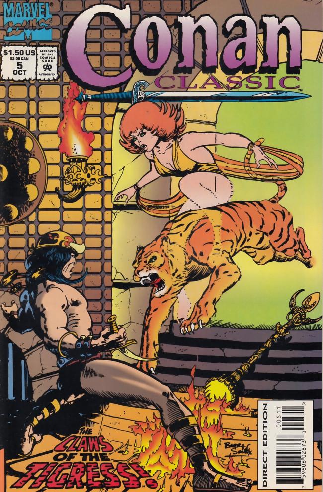 Couverture de Conan classic (1994) -5- Zukala's daughter