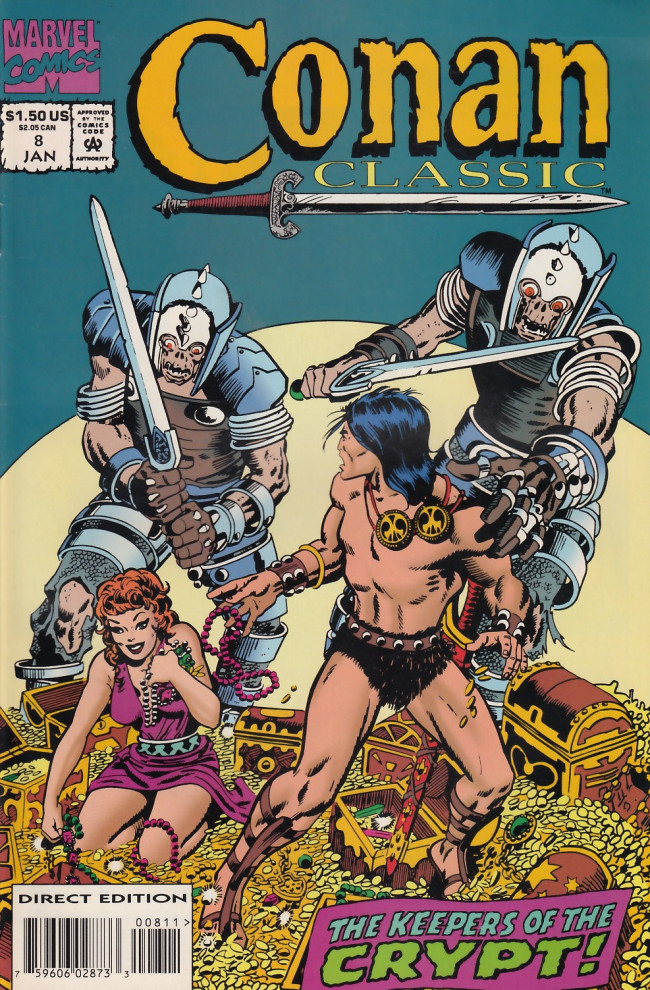 Couverture de Conan classic (1994) -8- The keepers of the crypt