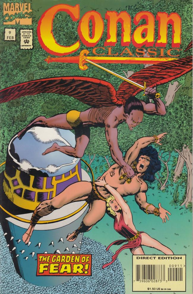 Couverture de Conan classic (1994) -9- Garden of fear