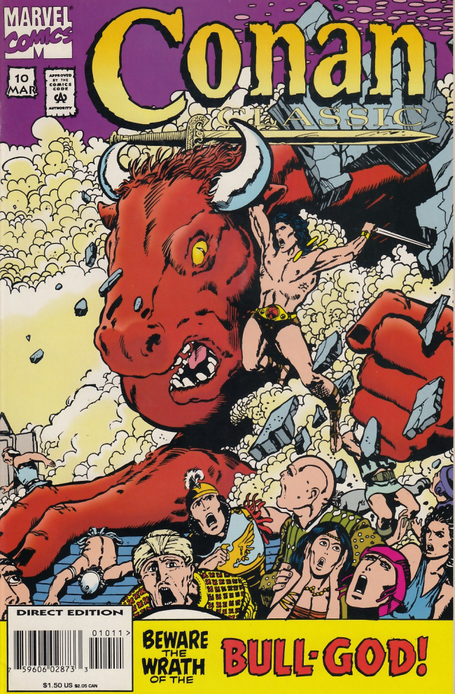 Couverture de Conan classic (1994) -10- Beware the wraith of Anu