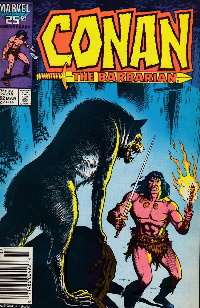 Couverture de Conan the Barbarian Vol 1 (Marvel - 1970) -192- Keeper