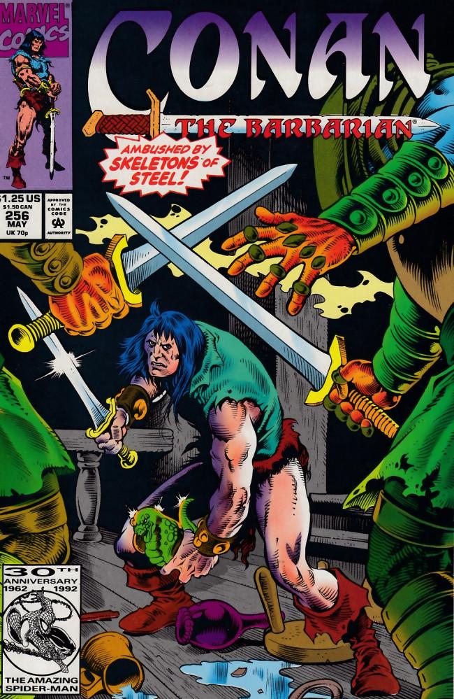 Couverture de Conan the Barbarian Vol 1 (Marvel - 1970) -256- blood and bones
