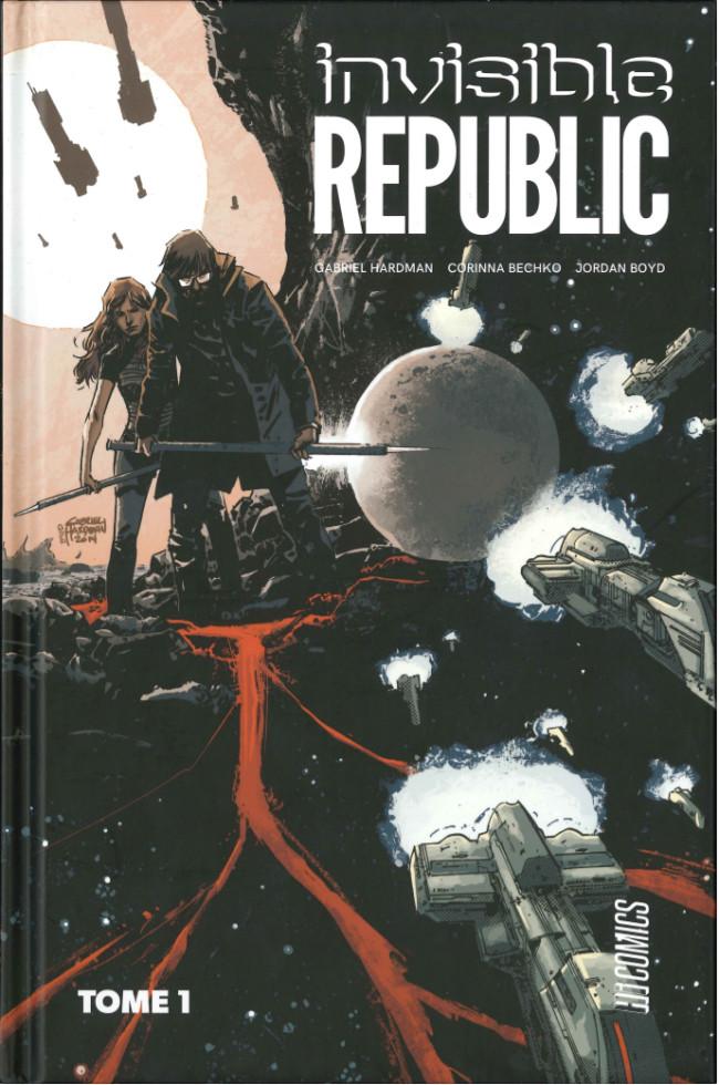 Couverture de Invisible Republic -1- Tome 1