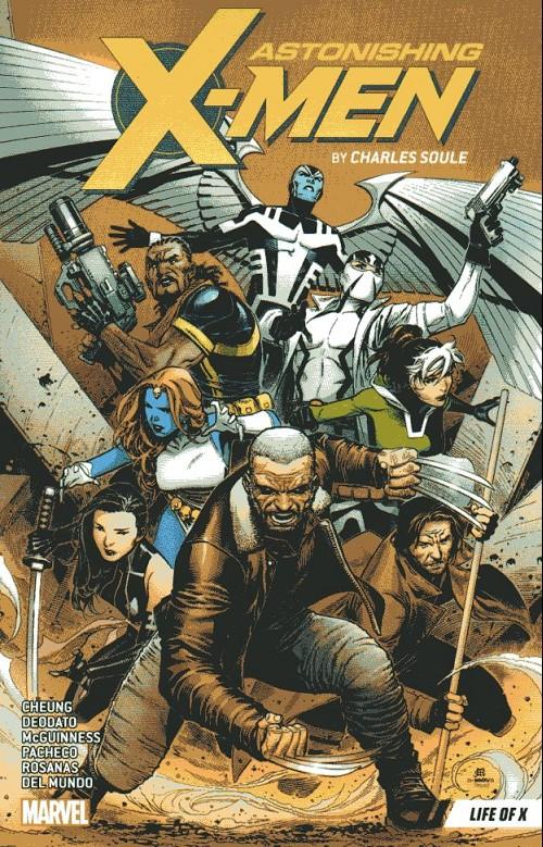 Couverture de Astonishing X-Men (2017) -INT01- Life of X