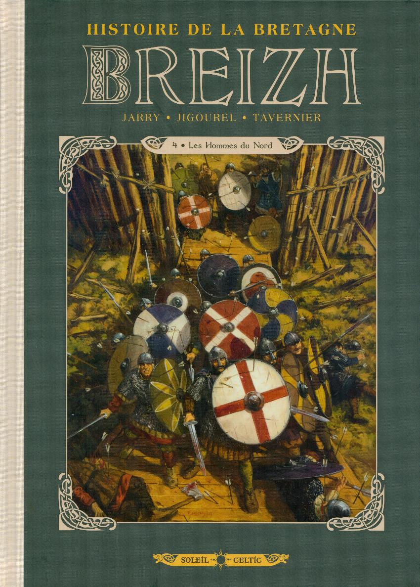 Couverture de Breizh - Histoire de la Bretagne -4- Les Hommes du Nord