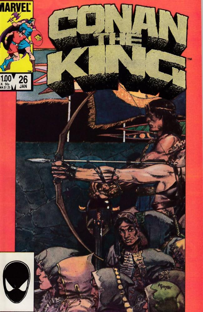 Couverture de Conan the King (1984) -26- Passage