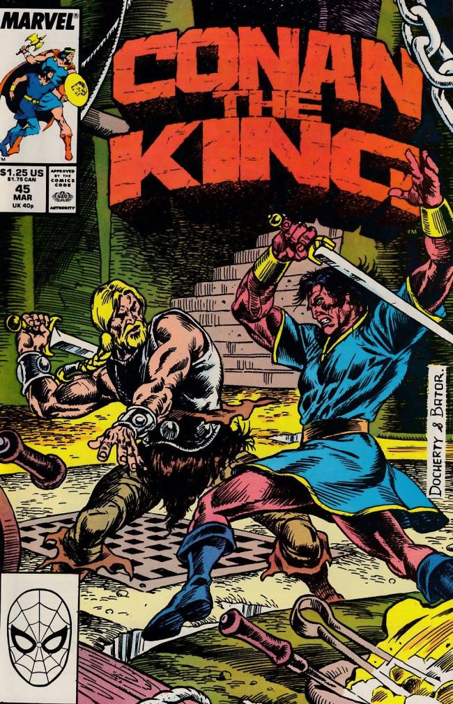 Couverture de Conan the King (1984) -45- Caliastros