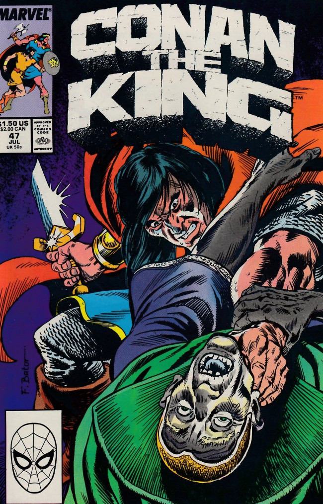 Couverture de Conan the King (1984) -47- Of Deat and the Dreamer