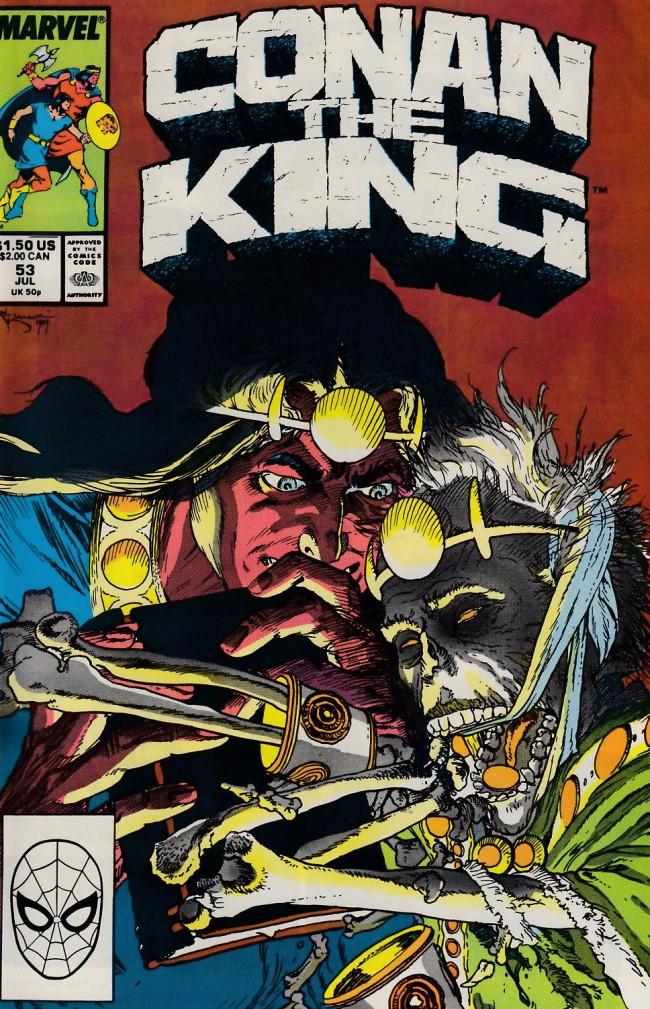 Couverture de Conan the King (1984) -53- Night War