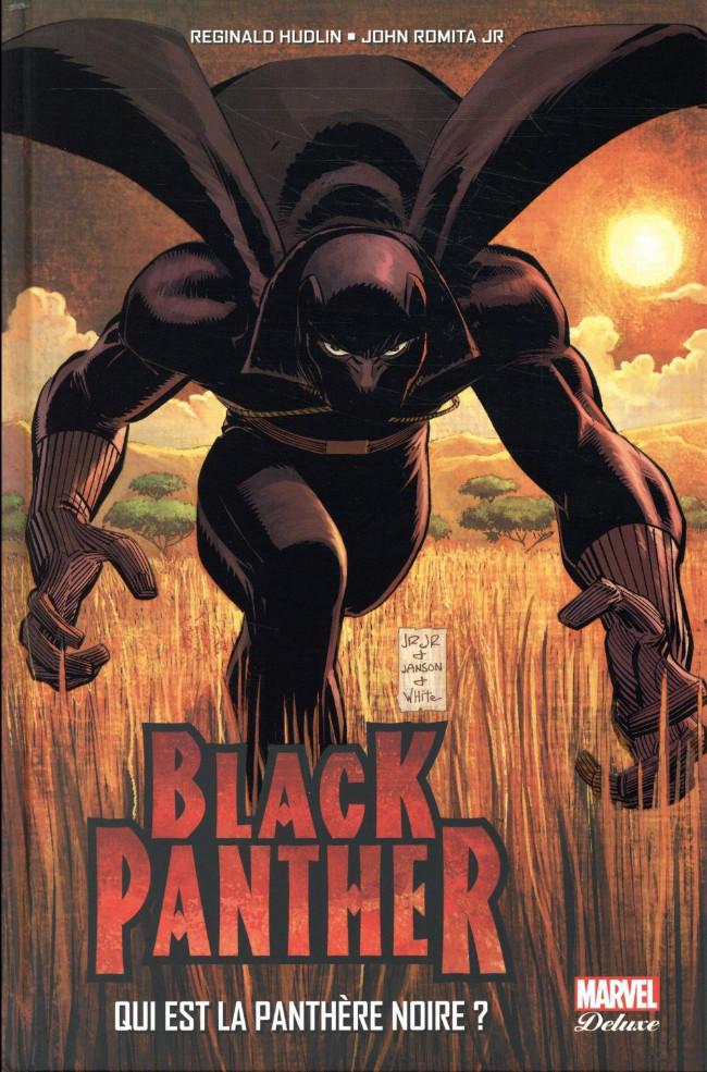 Couverture de Black Panther (Marvel Deluxe) -1- Qui est la Panthère Noire ?