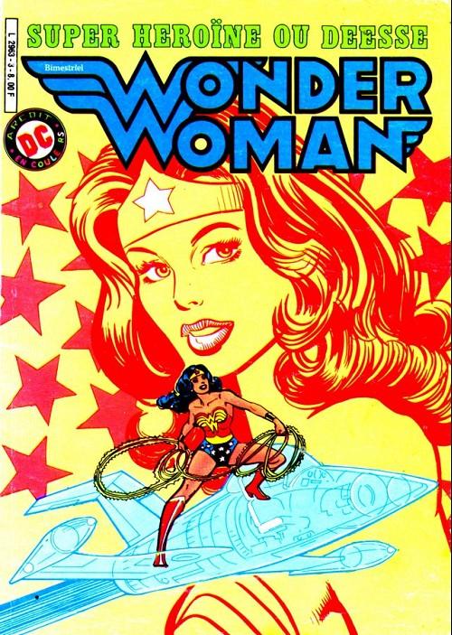 Couverture de Wonder Woman -3- Super héroïne ou déesse