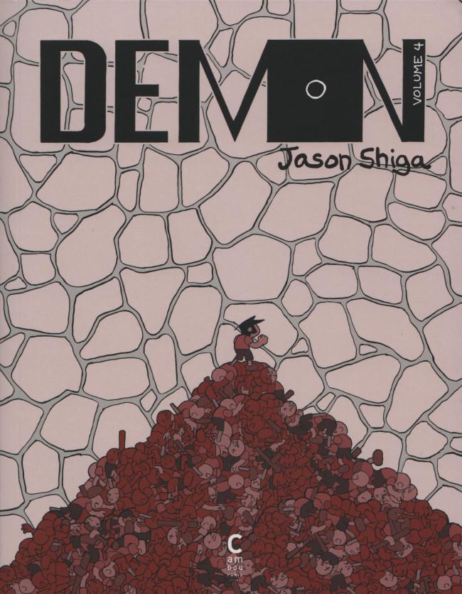 Couverture de Demon (Shiga) -4- Volume 4