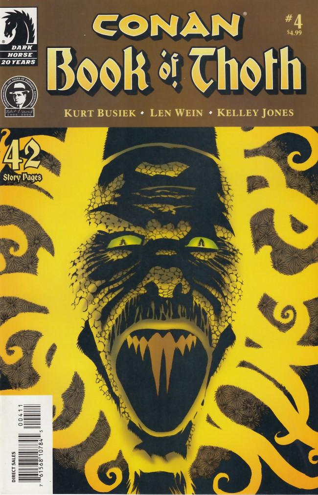Couverture de Conan: Book of Thoth (2006) -4- The serpent strikes