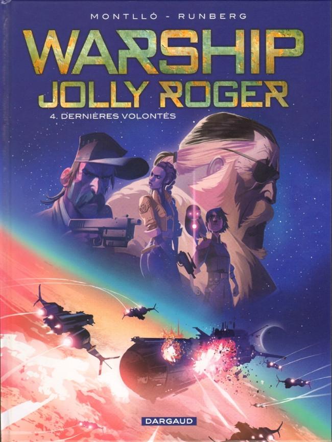 Couverture de Warship Jolly Roger -4- Dernières volontés