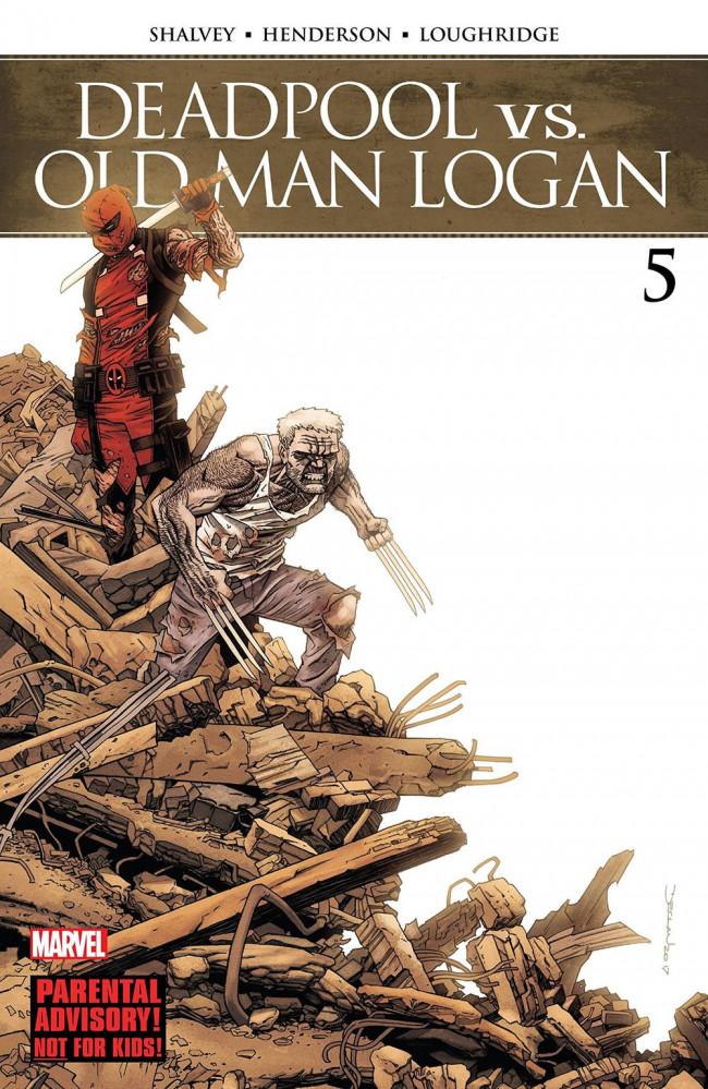 Couverture de Deadpool vs. Old Man Logan (2017) -5- Last Time part 5
