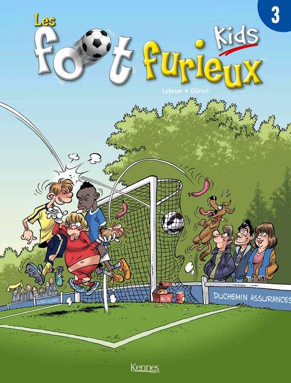 Couverture de Les foot Furieux Kids -3- Tome 3