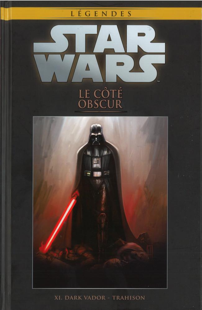 Couverture de Star Wars - Légendes - La Collection (Hachette) -60XI- Le Coté Obscur - XI. Dark Vador - Trahison