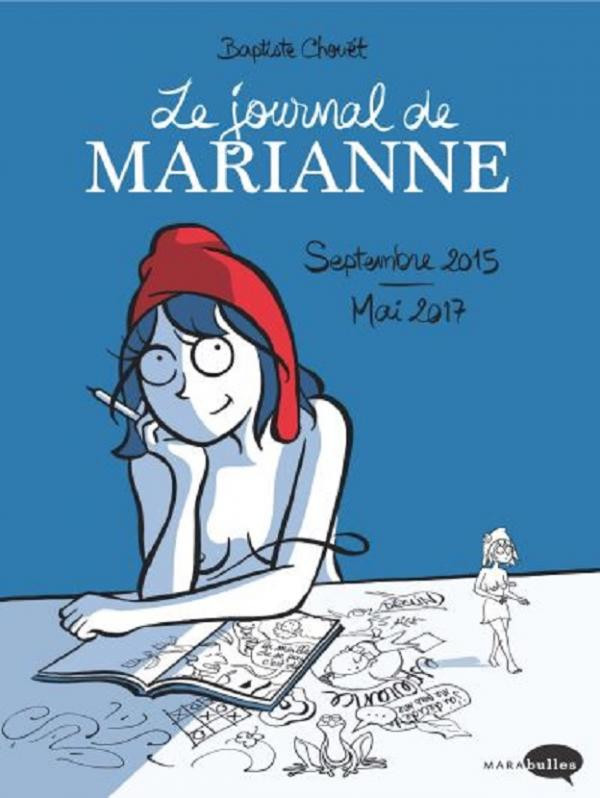 Couverture de Le journal de Marianne