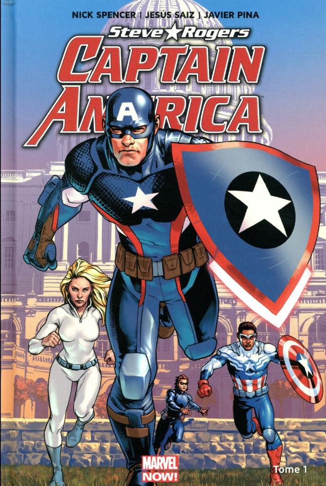 Couverture de Captain America : Steve Rogers -1- Heil Hydra