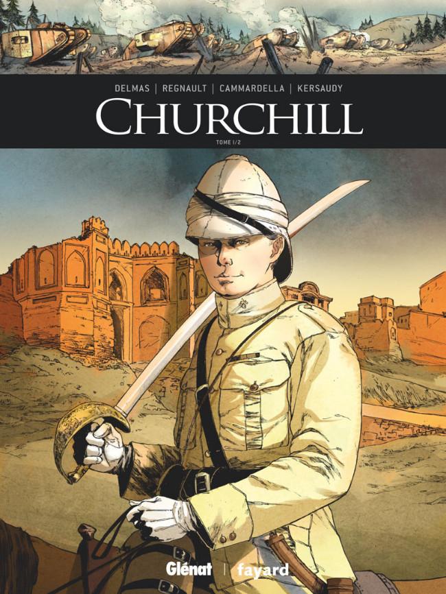Couverture de Ils ont fait l'Histoire -26- Churchill - Tome 1/2