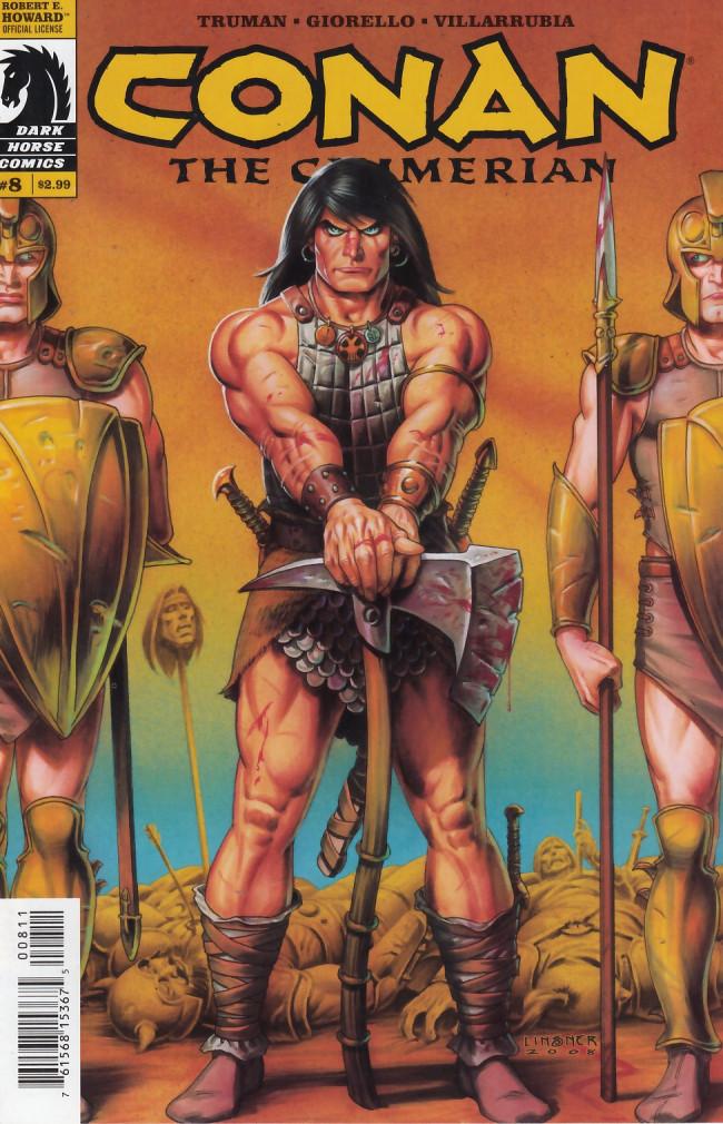 Couverture de Conan the Cimmerian (2008) -8- The Scorpion