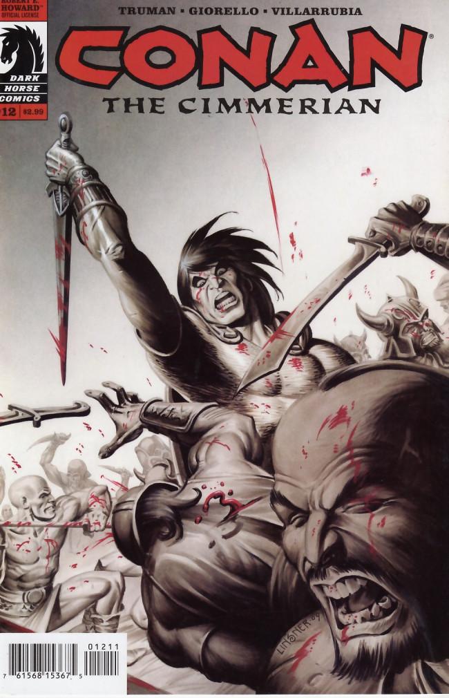 Couverture de Conan the Cimmerian (2008) -12- The Battle of Shamla Pass