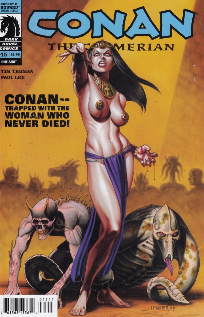 Couverture de Conan the Cimmerian (2008) -15- The Sorrow of Akivasha