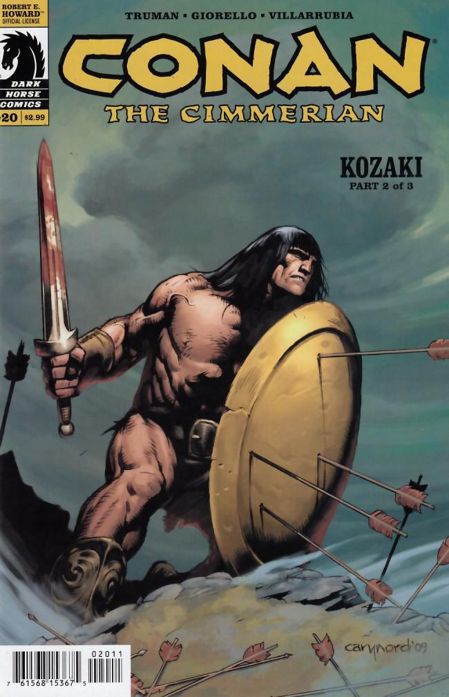 Couverture de Conan the Cimmerian (2008) -20- Kozaki part two of three