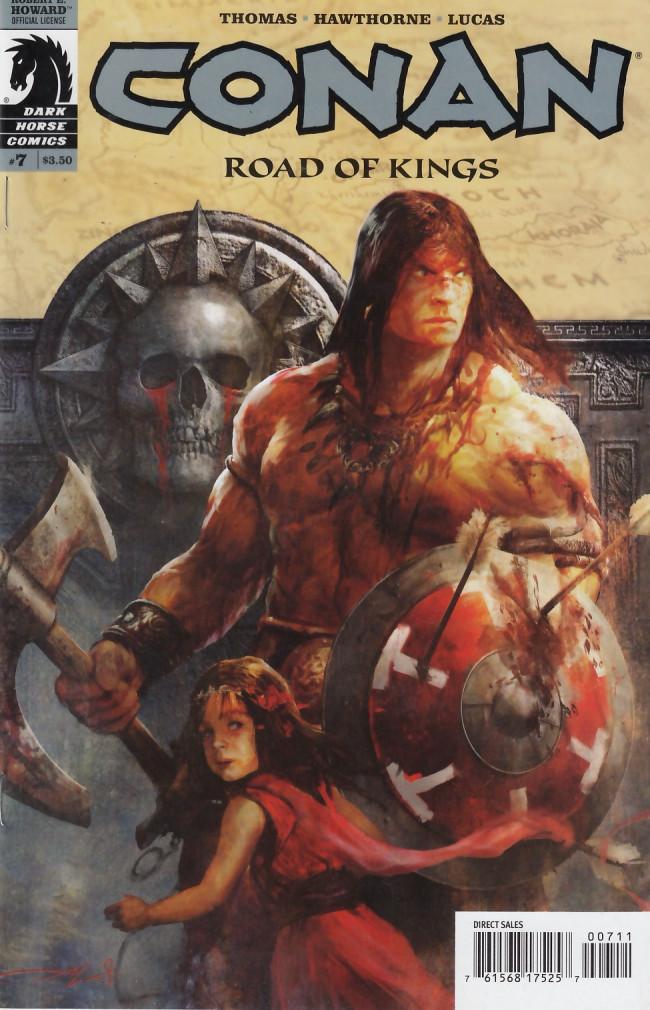 Couverture de Conan: Road of Kings (2010) -7- Conan: Road of Kings #7