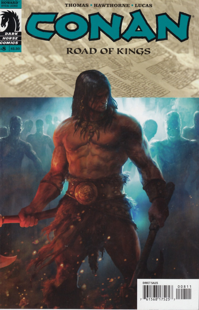 Couverture de Conan: Road of Kings (2010) -8- Conan: Road of Kings #8