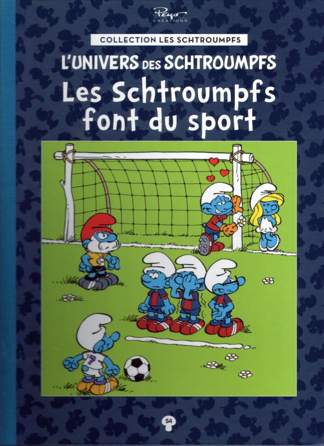 Couverture de Les schtroumpfs - La collection (Hachette) -54- Les Schtroumpfs font du sport