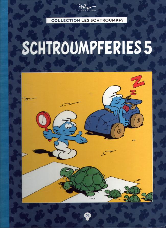 Couverture de Les schtroumpfs - La collection (Hachette) -55- Schtroumpferies 5