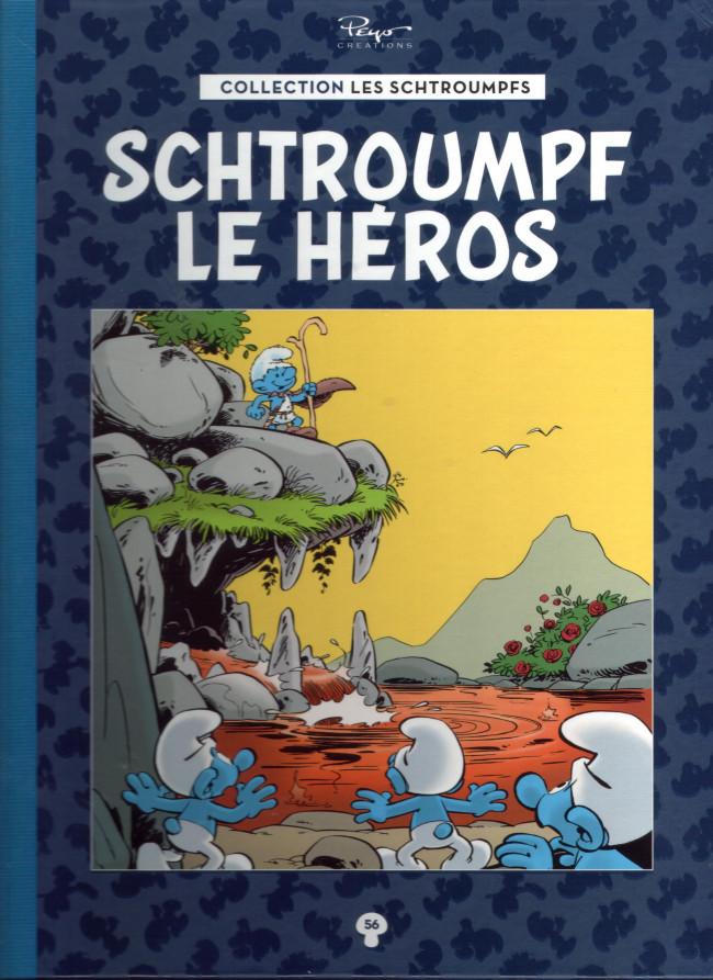 Couverture de Les schtroumpfs - La collection (Hachette) -56- Schtroumpf le héros