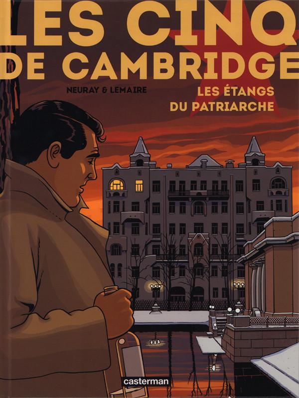 Couverture de Les cinq de Cambridge -3- Les étangs du patriarche
