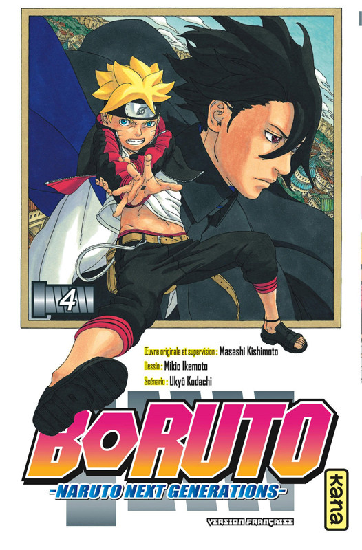 Couverture de Boruto - Naruto Next Generations -4- La valeur de l'atout