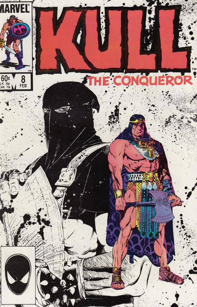 Couverture de Kull the Conqueror Vol.3 (Marvel comics - 1983) -8- Blade of justice