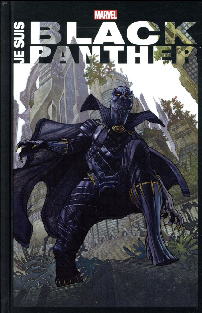 Couverture de Black Panther : Je suis Black Panther