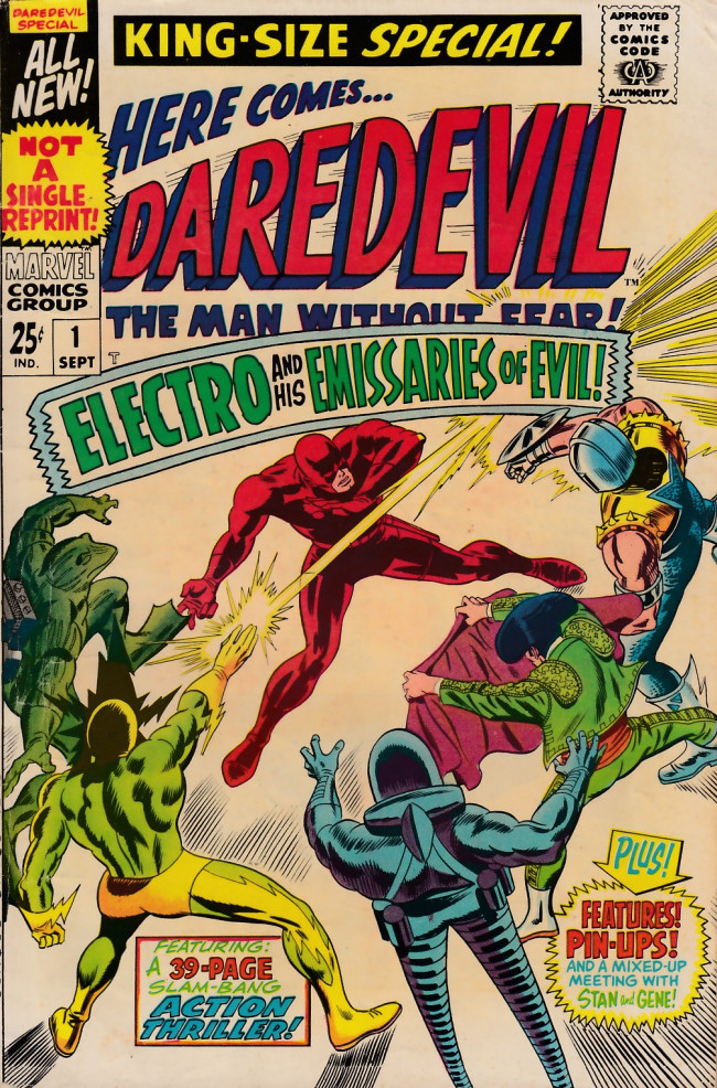 Couverture de Daredevil Vol. 1 (Marvel - 1964) -AN01- Electro and the Emissaries of Evil