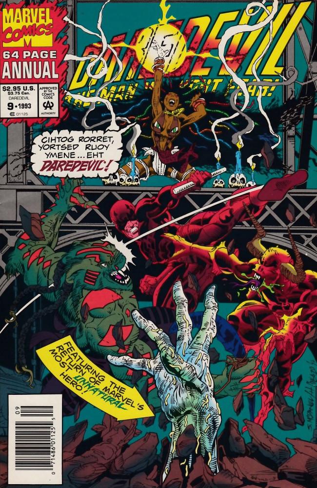 Couverture de Daredevil Vol. 1 (Marvel - 1964) -AN09- Devouring Madness